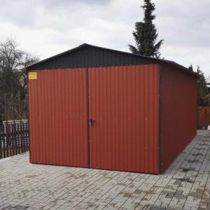 plechova garaz 3x5