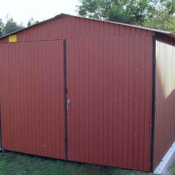 Plechová garáž 3x5 sedlová strecha btx8004