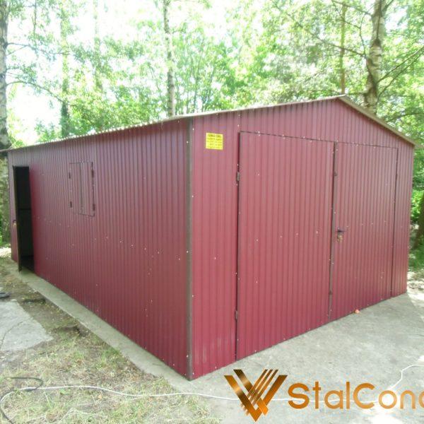 Plechová garáž 4x6 sedlová strecha btx 3005