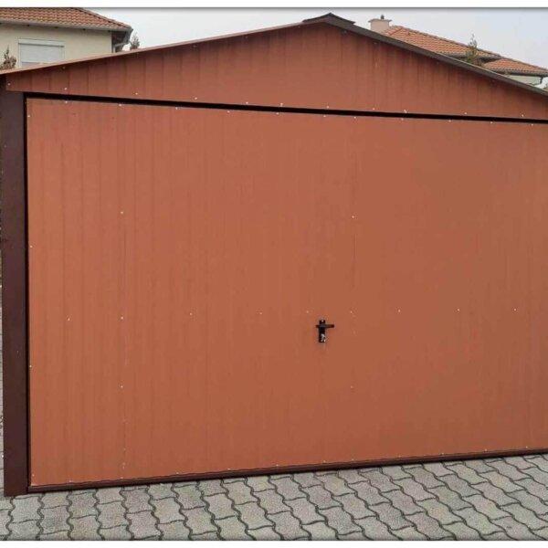 Plechová garáž 3×5 sedlová strecha BTX 8004